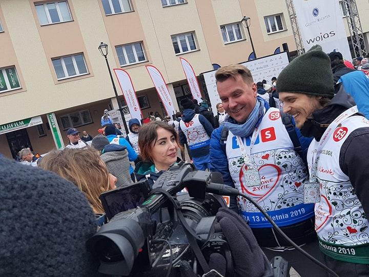 Bieg po Nowe Życie 2019: gwiazdy, media i osoby po przeszczepach wsparły polską transplantologię
