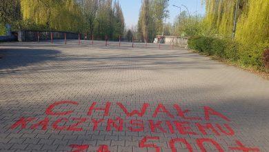 Sosnowiec: Chwała Kaczyńskiemu za 500 plus! Prezydent miasta jest wściekły! (fot.facebook.com/Arkadiusz Chęciński)