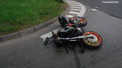 Groźny wypadek w Tarnowskich Górach! Motocyklista trafił do szpitala