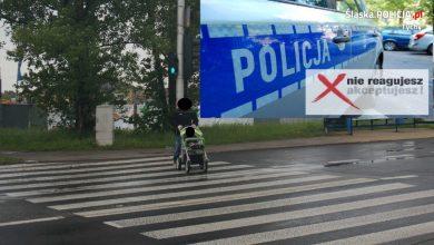 Tychy: O krok od tragedii. Policja szuka świadków (fot. KMP Tychy)
