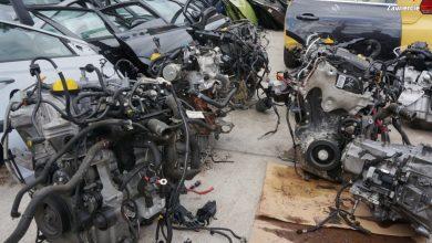Zawiercie: tu trzymali części z kradzionych aut [WIDEO]