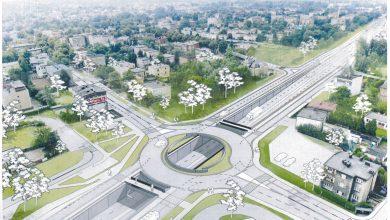 Katowice: Kolejny etap prac na skrzyżowaniu ulic Kościuszki z Armii Krajowej (fot.UM Katowice)