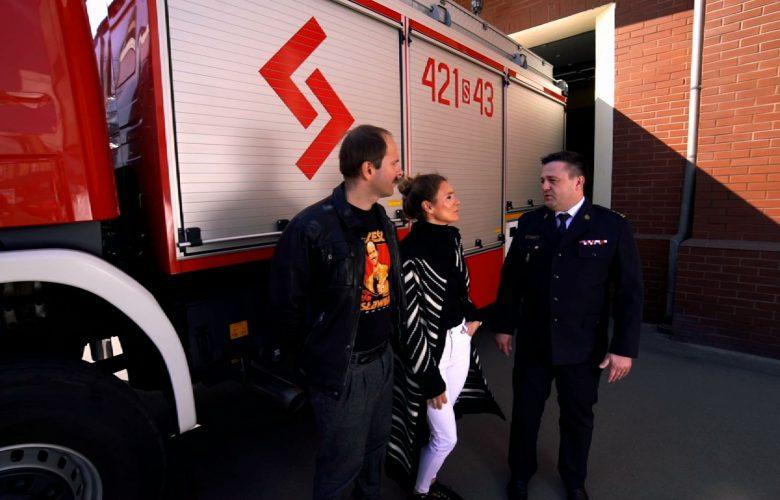 Śląska Karuzela: Sławomir został strażakiem w Chorzowie!