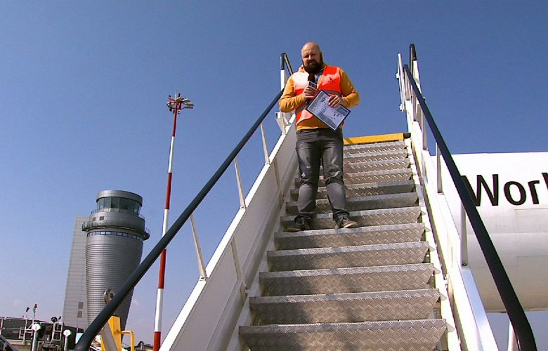 Tym razem odlecieliśmy na całego! A skąd najlepiej odlecieć? Wiadomix - z Pyrzowic! Katowice Airport ugościł naszą programową eskadrę!