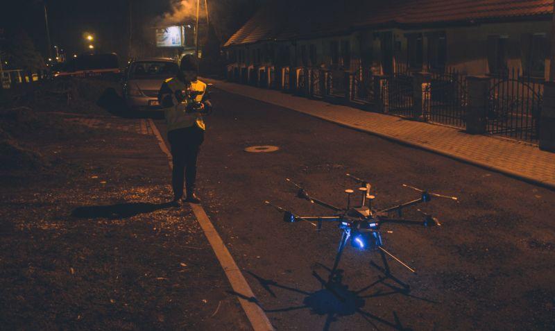 Ruszyły zapowiedziane nocne kontrole anty-smogowe katowickiej Straży Miejskiej