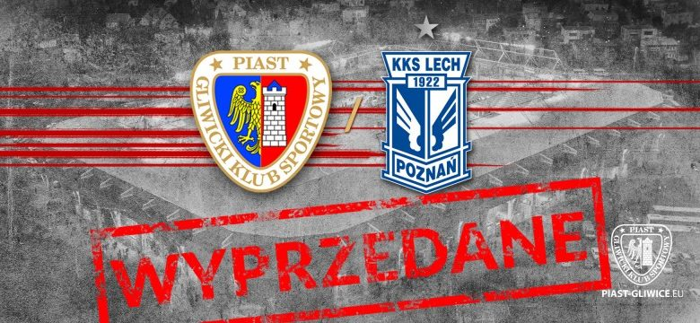 Stadion Piasta znowu pełny! Bilety na mecz z Lechem Poznań wyprzedane! (fot.Piast Gliwice)