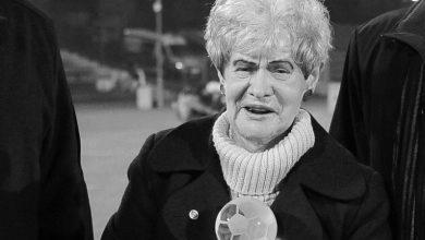 Nie żyje Krystyna Cieślik, żona śp. Gerarda Cieślika, legendy Ruchu Chorzów. O śmierci Krystyny Cieślik poinformowała klubowa strona (fot.Ruch Chorzów)