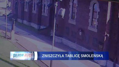 Skandal w Sosnowcu! Pomodliła się na mszy i zdewastowała Tablicę Smoleńską!