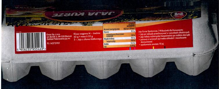 Ostrzeżenie GIS: Jajka skażone salmonellą! Nie wolno ich jeść!
