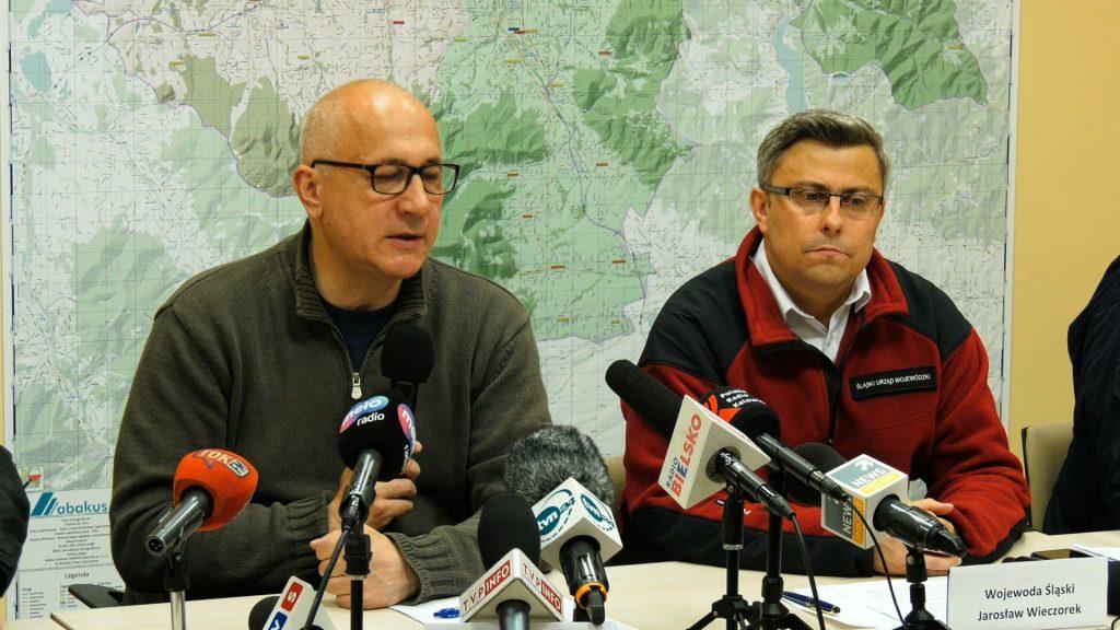 Ludzie z zalanych terenów na pewno nie zostaną pozostawieni sami sobie - zapewnia Joachim Brudziński, minister spraw wewnętrznych i administracji