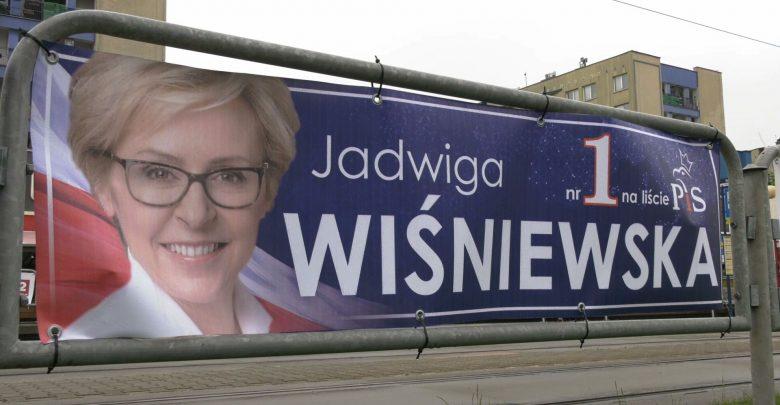Ponad 408 tysięcy głosów na Jadwigę Wiśniewską z Prawa i Sprawiedliwości, czyli drugi wynik w woj. śląskim
