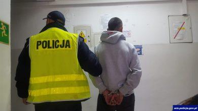 Obnażał się przed 12-letnim chłopcem. 33-latek zatrzymany (fot.policja.pl)