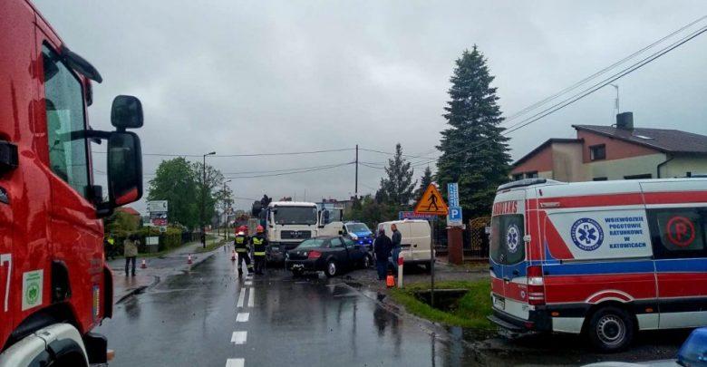 Śląskie: Tragiczny wypadek w Łanach Wielkich. Nie żyje 78-latek (fot.KMP Gliwice)