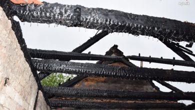 Tragiczny pożar w Rybniku. Strażacy znaleźli zwłoki mężczyzny (fot.KMP Rybnik)