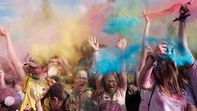 Czysty stąd nikt nie wyszedł! Holi Festival, czyli Święto Kolorów w Dąbrowie Górniczej zdjęcie: PawelJedrusikFotografia