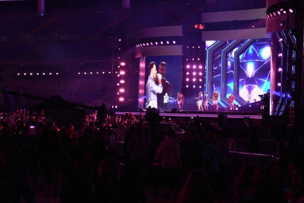 Koncert był transmitowany na żywo od godziny 20:00 na antenach Telewizji Polsat, Disco Polo Music i Polo TV