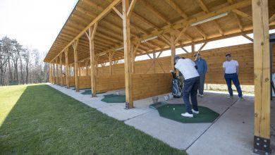 Tychy: Nowa strzelnica golfowa już działa (fot.Kamil Peszat)