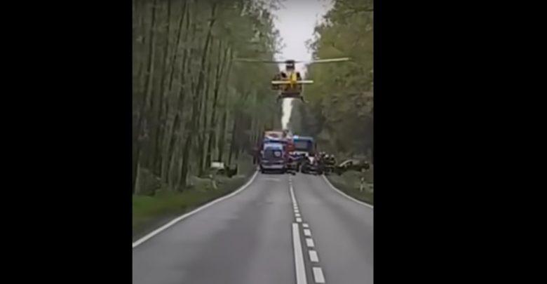 Śląskie: To, co zrobił pilot helikoptera LPR to niesamowite! (źr:youtube.com)