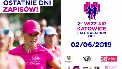 2nd Wizz Air Katowice Half Marathon już coraz bliżej! Jeśli chcecie wziąć udział w jednej z największych imprez biegowych na Śląsku, to jest szansa na zgarnięcie pełnego pakietu w PROMOCYJNEJ cenie!