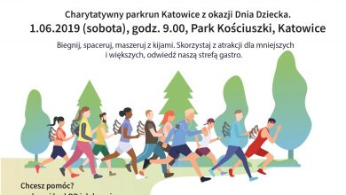 """""""BIEGNIJ DLA ANIOŁÓW! Charytatywny parkrun Katowice z okazji Dnia Dziecka"""" już jutro (fot.mat.prasowe)"""