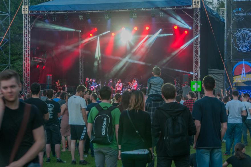 Trwają juwenalia gliwickie, czyli Igry 2019 [FOTO] Przed studentami fantastyczne koncerty! (fot. UM Gliwice)