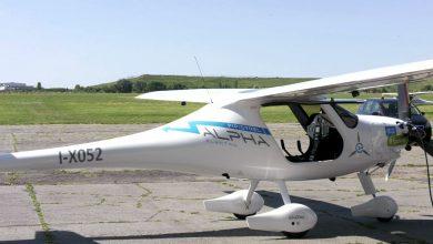 Widać, ale nie słychać. Nad Śląskiem przeleciał pierwszy seryjny samolot elektryczny!