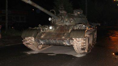 Jeździł czołgiem ulicami miasta. Był pijany (fot. policja.pl)