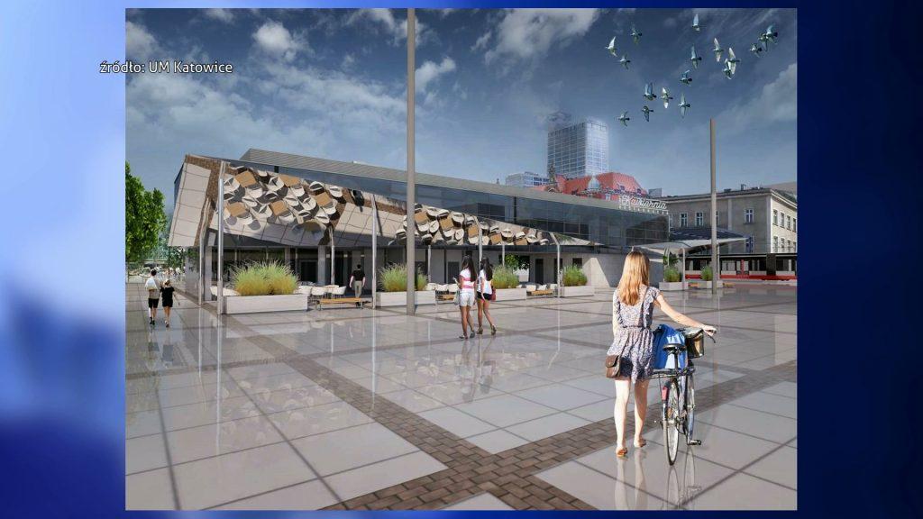 Katowice: Zadaszenia pawilonu na Rynku nie będzie. Kasa pójdzie na przebudowę Dworcowej