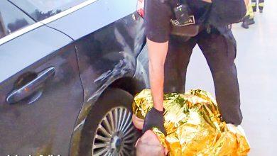Wjechał w samochód. Ten potrącił 12-latka. Kierowca forda był pod wpływem narkotyków (fot.Policja Lubuska)