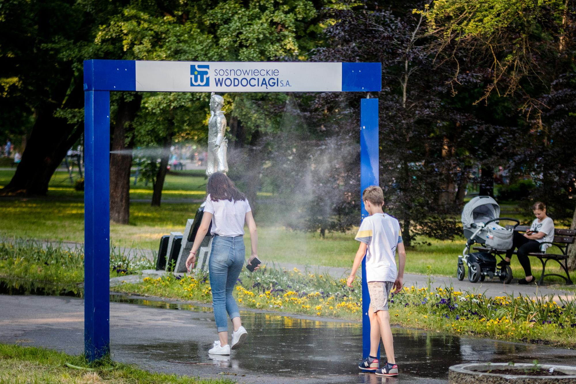 Jak przetrwać upały w Sosnowcu? (fot.UM Sosnowiec)