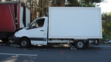 Śląskie: Tragiczny wypadek na DK78 w Siewierzu. Nie żyje 23-latek (fot.Śląska Policja)