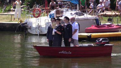 Rybnik: Msza na wodzie [WIDEO] To nabożeństwo, m.in. za ratowników WOPR (fot.mat.TVS)