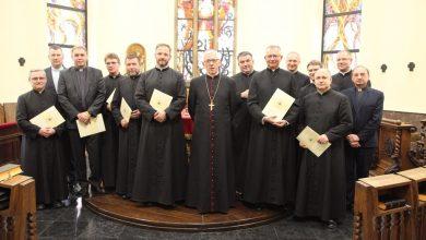 12 nowych proboszczów powołał na terenie Archidiecezji Katowickiej arcybiskup Wiktor Skworc (fot.Arch.Kat.ks. S. Kreczmański)