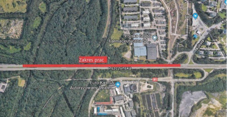 Tychy, Katowice: Rusza naprawa ubytków i spękanej nawierzchni na DK86 (fot.UM Tychy)
