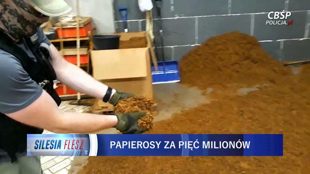 """Papierosów starczyłoby dla całego województwa! Gigantyczna """"lewa"""" fabryka odkryta na Śląsku!"""