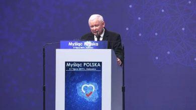"""Kaczyński zakończył konwencję PiS w Katowicach: """"Myślą i czynem wygramy wybory!"""""""