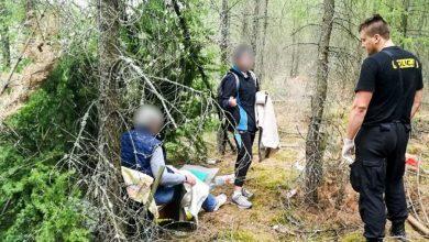 Wybuch gazu w Zielonej Górze. Poszukiwana matka z córką odnalezione w prowizorycznym szałasie [ZDJĘCIA] (fot.policja.pl)