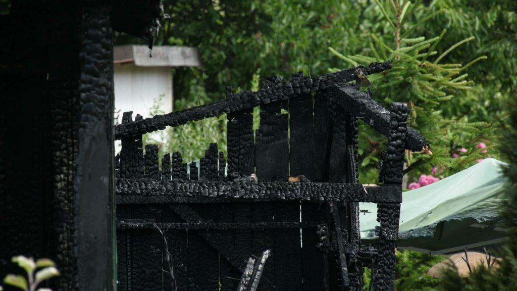 Tarnowskie Góry: Seria podpaleń? Cztery altany spłonęły w jedną noc!