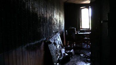 Groźny pożar w Dąbrowie Górniczej! Ogień strawił całe mieszkanie w Gołonogu
