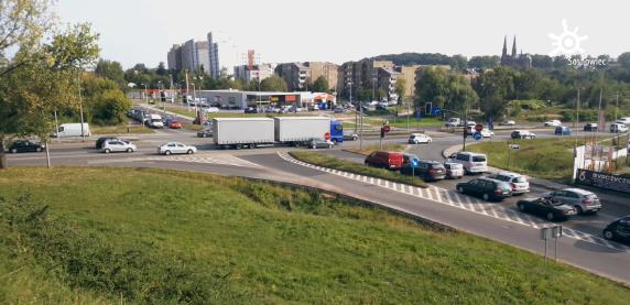 Kolejne zmiany na DK 94 w Sosnowcu! Tylko jeden pas ruchu w obydwu kierunkach