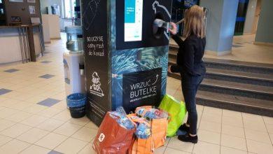 W Sosnowcu automaty płacą za plastikowe butelki! Są kolejne urządzenia