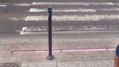 Katowice: Powstało specjalne przejście przez ulicę dla smartfonowców!