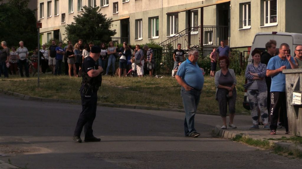 Wybuch butli z gazem w Rudzie Śląskiej w kamienicy przy ulicy Wolności. Według relacji świadków poszkodowane zostały dwie osoby