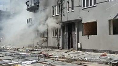 PILNE!!! Potężny wybuch gazu w Bytomiu! Są ranni, trwa przeszukiwanie kamienicy fot. Katarzyna Osak