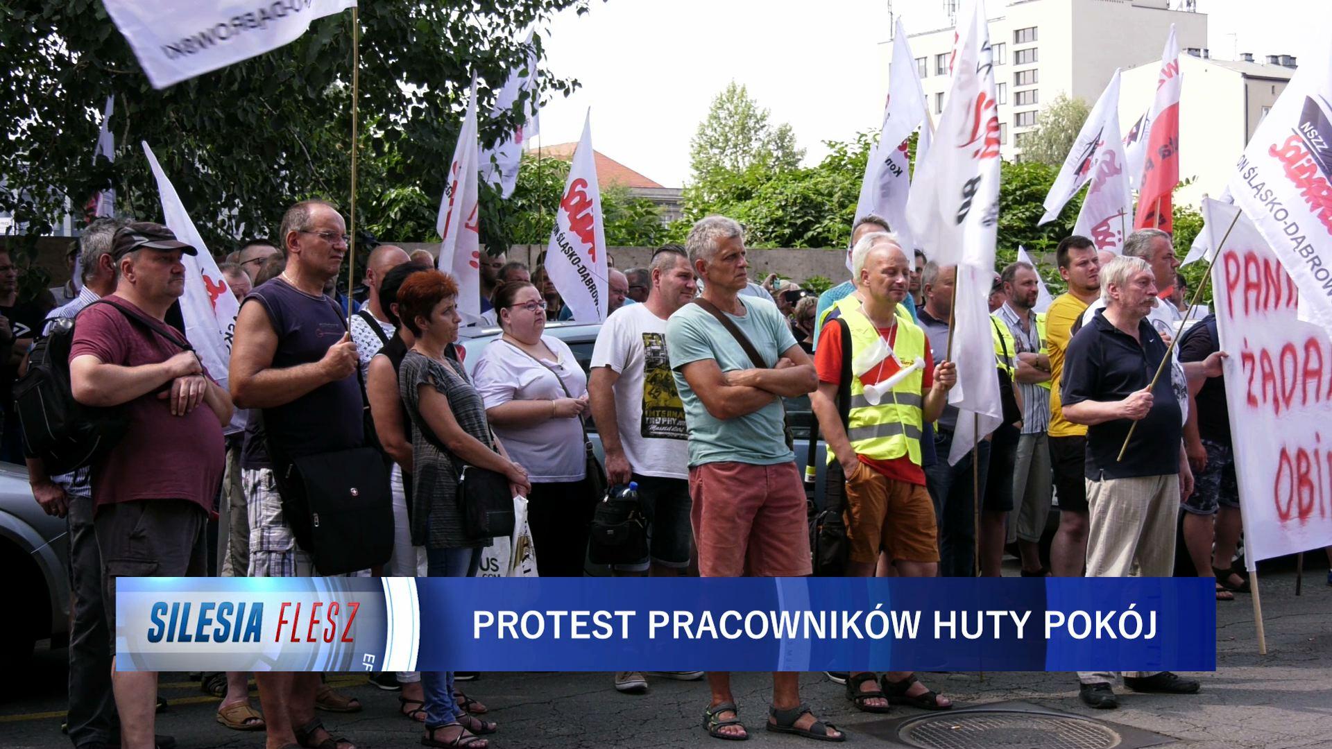 Ruda Śląska: Pracownicy Huty Pokój boją się zwolnień! Może