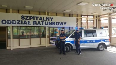 Bielsko-Biała: Policja eskortowała na sygnałach rodzącą kobietę na porodówkę! (fot.policja)