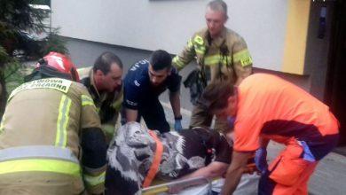 Dramatyczna akcja ratunkowa w Piekarach Śląskich! Kobieta była uwięziona we własnym mieszkaniu