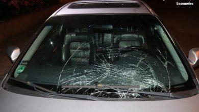 Demolka w Sosnowcu to dzieło trzech wandali, którzy bezmyślnie niszczyli samochody (fot.KMP Sosnowiec)