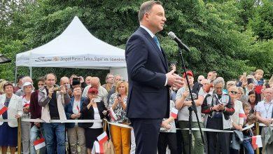 Andrzej Duda w Chorzowie: Wielka defilada 15 sierpnia w Katowicach upamiętni Powstania Śląskie! (fot.facebook/Jarosław Wieczorek - Wojewoda Śląski)