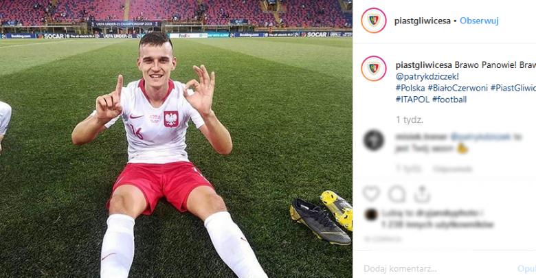 Piłkarz Piasta Gliwice coraz bliżej Serie A! Wystąpi jednak w el. do LM (fot. instagram piastgliwicesa)